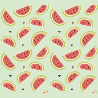 Diseño de patrón de sandía