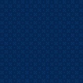 Diseño de patrón de suéter de punto abstracto