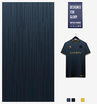 Diseño de patrón de tela deportiva para camiseta de fútbol. fondo abstracto.