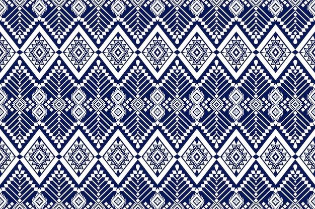 Diseño de patrón de tradición y oriental asiática étnica geométrica perfecta para textura y fondo. decoración con patrones de seda y tela para alfombras, ropa, envoltorios y papel tapiz.