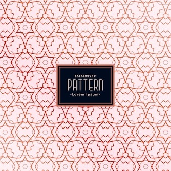 Diseño de patrón transparente abstracto de estilo de forma de estrella