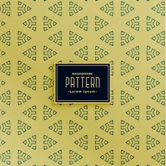 Diseño de patrones sin fisuras en forma de triángulo decorativo