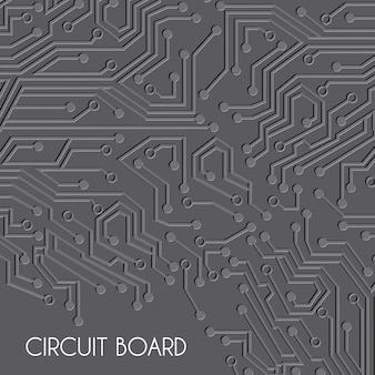 Diseño de la placa de circuito