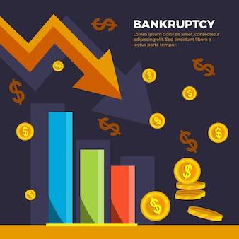 Diseño plano bancruptcy