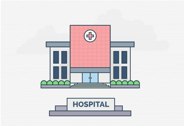 Diseño plano de hospital general