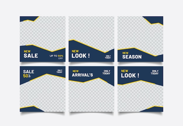 Diseño de plantilla de banner de concepto de venta. diseño de promoción abstracta de descuento
