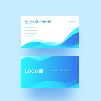 Diseño de plantilla de diseño de tarjeta de visita