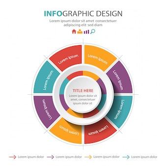 Diseño de la plantilla de infografía