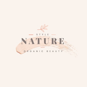 Diseño de plantilla de logotipo de naturaleza