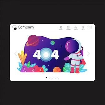 Diseño de plantilla de sitio web