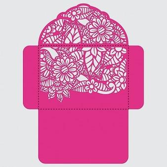 Diseño de plantilla de sobre