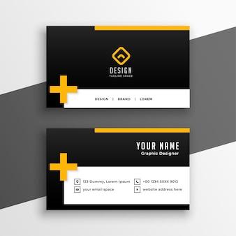 Diseño de plantilla de tarjeta de visita limpia