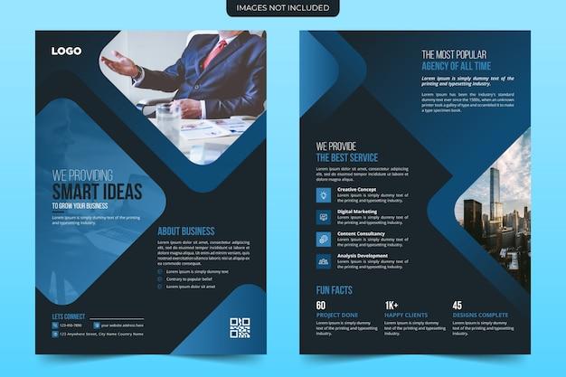 Diseño de plantilla de volante de negocios creativos