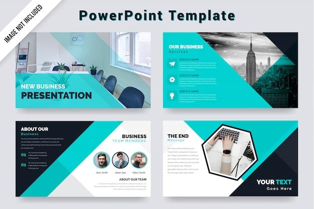Diseño de plantillas de presentación de negocios corporativos