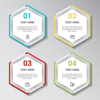 Diseño de plnatilla de infografía