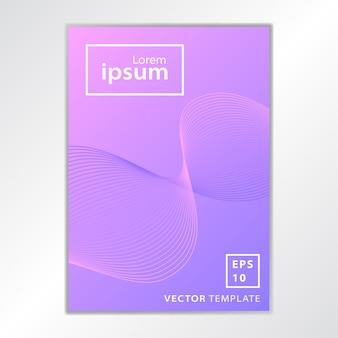 Diseño de portada de folleto de negocio mínimo
