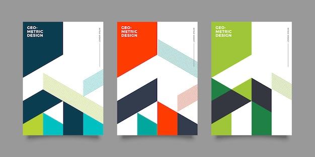 Diseño de portada moderna abstracta
