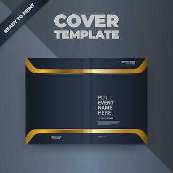 Diseño de portada de plantilla de diseño de folleto flyer