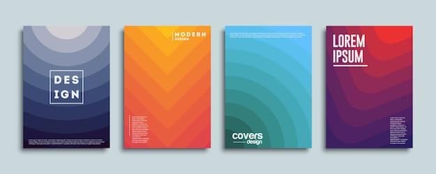 Diseño de portadas coloridas
