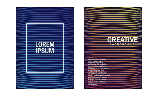 Diseño de portadas mínimas