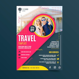 Diseño de póster de viaje