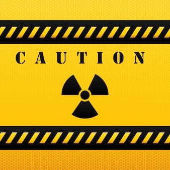 Diseño de precaución. iluistración