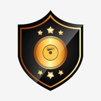 Diseño de premio musical