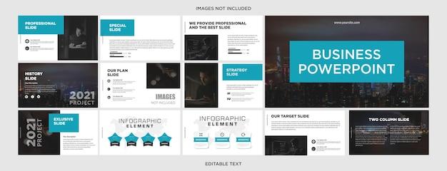 Diseño de presentación empresarial multipropósito