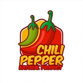 Diseño de producto natural chili peppers