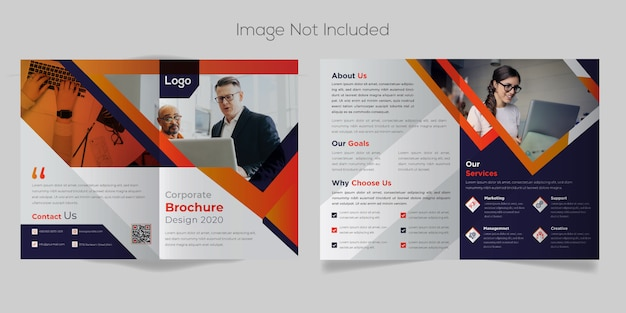 Diseño profesional de folletos comerciales