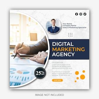 Diseño de publicaciones de marketing digital y redes sociales corporativas