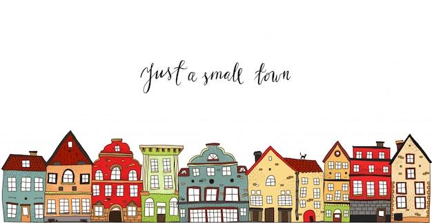Diseño de pueblo pequeño