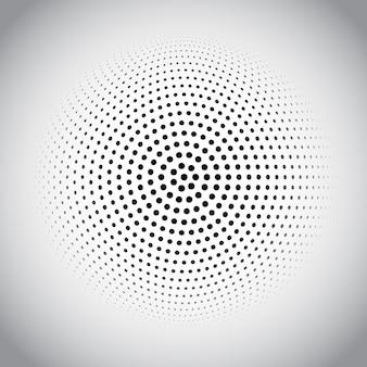 Diseño de puntos de semitono