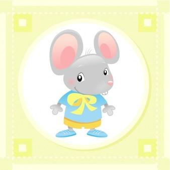 Diseño de ratón bebé