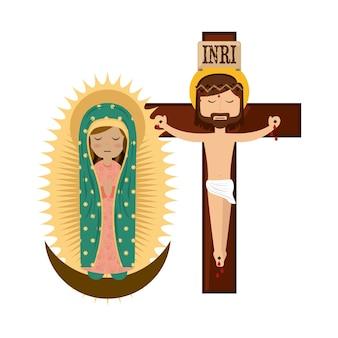 Diseño de religión católico