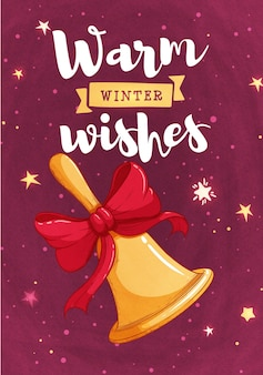 Diseño retro de las tarjetas de felicitación de la feliz navidad. ilustración vectorial