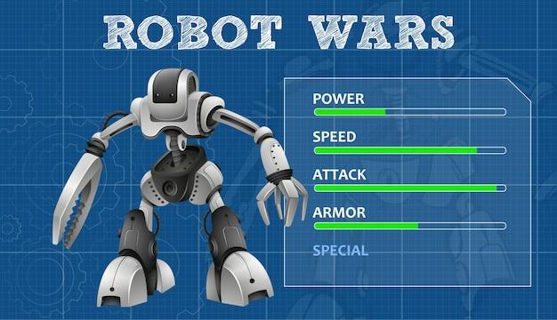 21d99ec8381 Diseño avanzado de robot con panel de funciones | Descargar Vectores ...