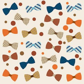 Diseño de ropa sobre fondo beige ilustración vectorial