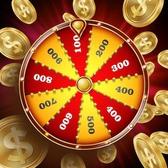 Diseño de la rueda de la fortuna