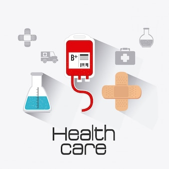 Diseño sanitario médico.
