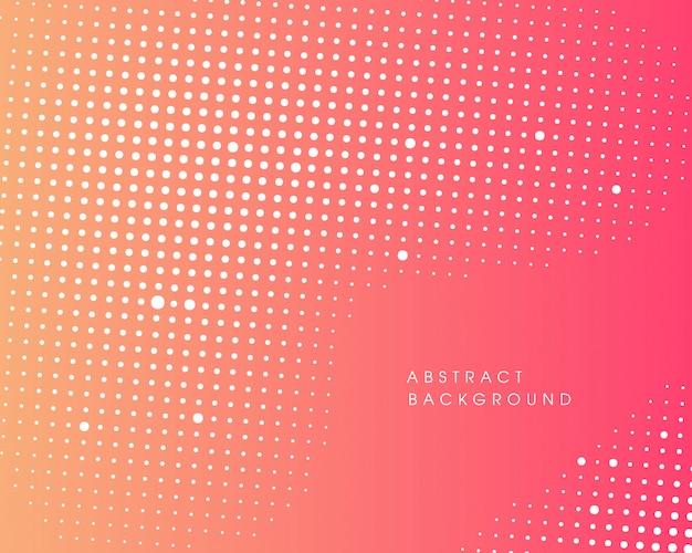 Diseño de semitono abstracto