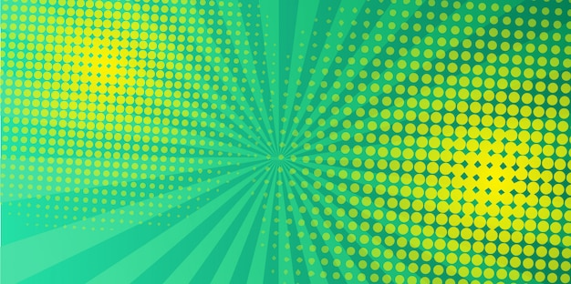 Diseño de semitono verde