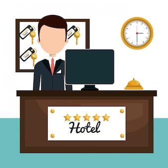 Diseño de servicio de hotel