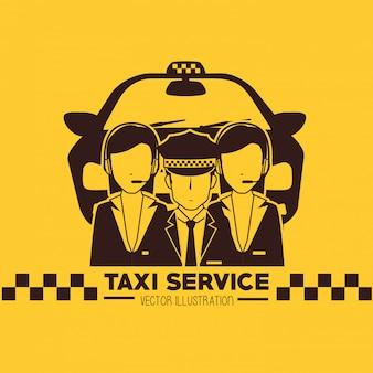 Diseño de servicio de taxi