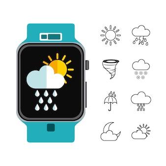 Diseño de símbolos meteorológicos