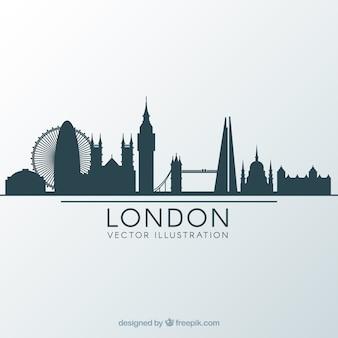 Diseño de skyline de londres
