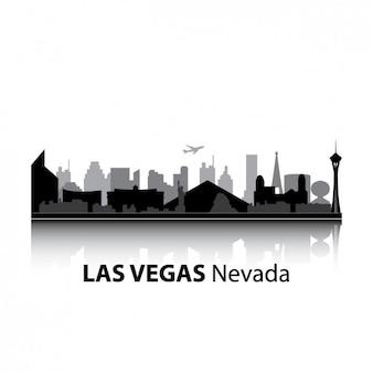 Diseño del skyline de las vegas