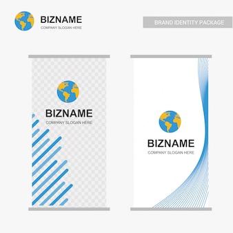 Diseño standee de negocios