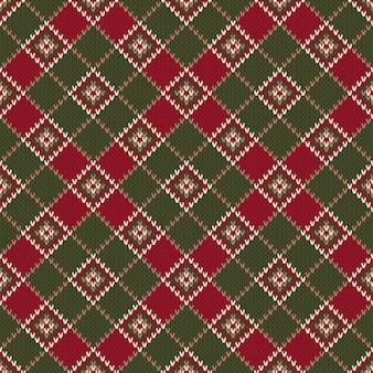Diseño de suéter de lana de tejer. esquema para el diseño de patrón de suéter de punto o bordado de punto de cruz.