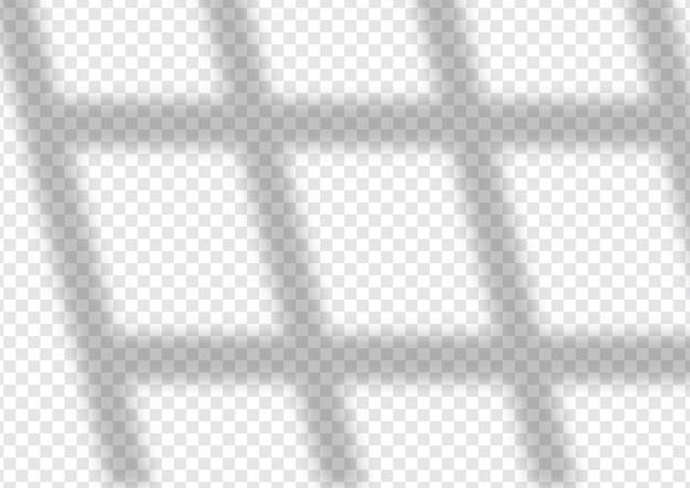 Diseño de superposición de sombra de ventana